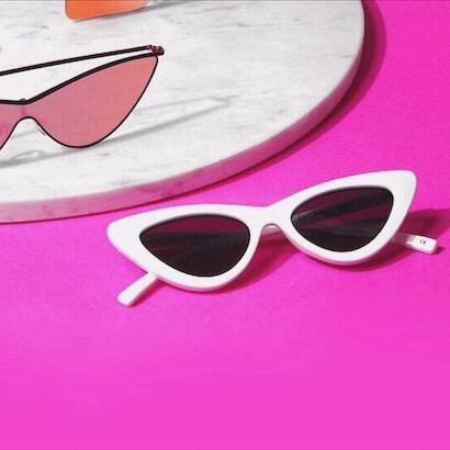 Le Specs' Sleek Cat-EyeShades